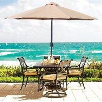 Patio Umbrellas  Outdoor Function and Fashion - Teak ...