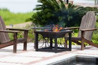 Best Fire Pit Table - Teak Patio Furniture World