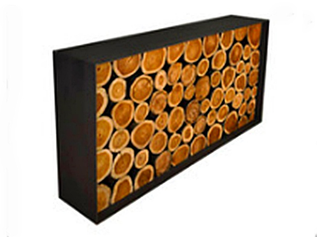 teak wall decor