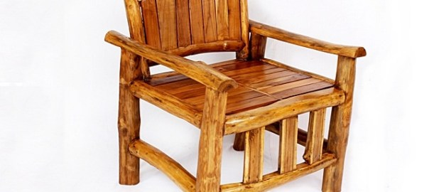 Teak Wood Armchair