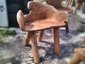 Teak Root Chair 4 Legs