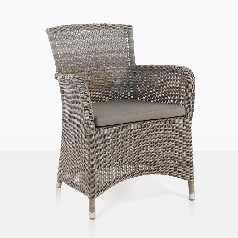 Wicker Outdoor Dining Chairs Gilbert Wicker Dining Arm Chair