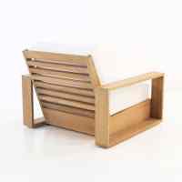 Kuba Teak Outdoor Club Chair | Patio Furniture | Teak ...