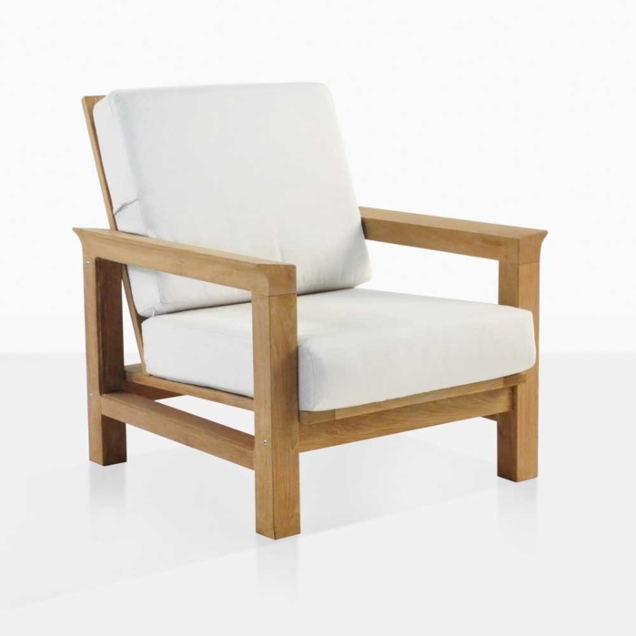 patio club chair best chairs inc power lift recliner parts monterey teak outdoor furniture warehouse with cushions