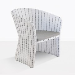 White Wicker Chairs And Table Garden Set Nautical Dining Chair Outdoor Cafe Patio Seating Teak