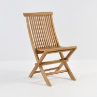 Prego Teak Folding Dining Chair| Outdoor Patio Restaurant ...
