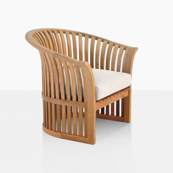 satai teak outdoor club chair
