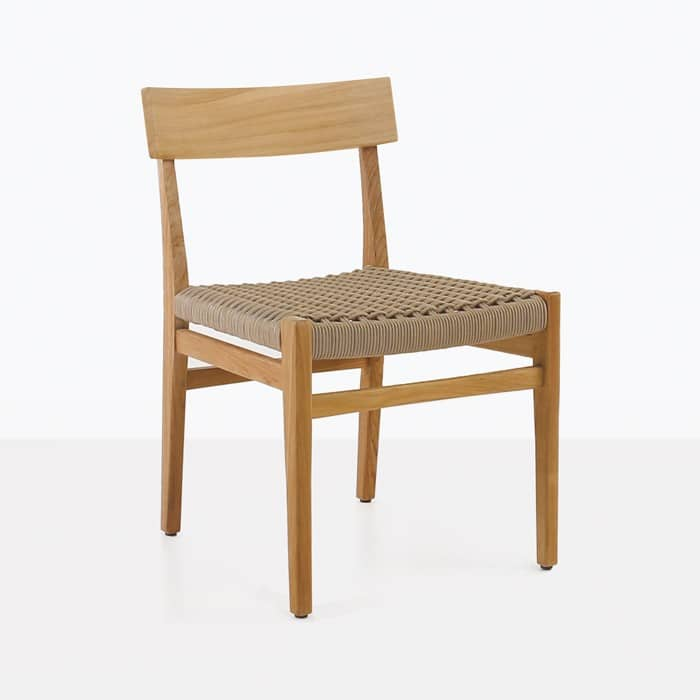 Tokio Teak Dining Chair Outdoor Restaurant Patio Seating
