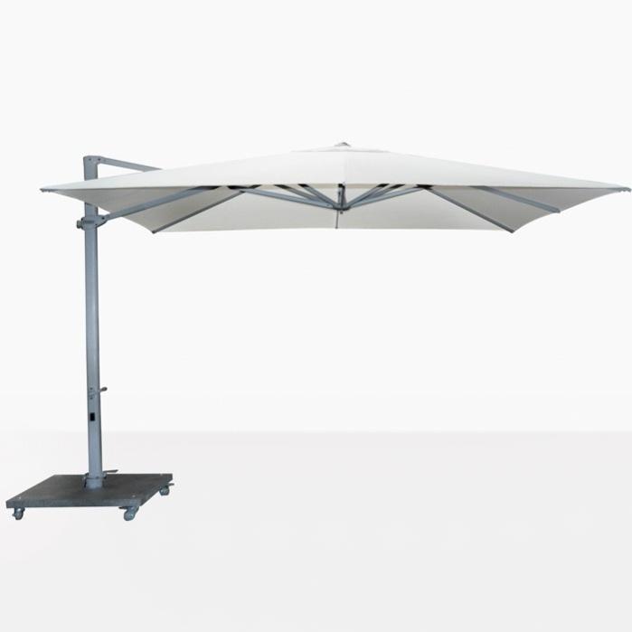 antigua 10ft cantilever umbrella white