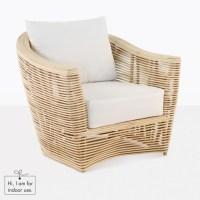 Global Indoor Chair (Rattan)|Relaxing Chairs | Teak Warehouse