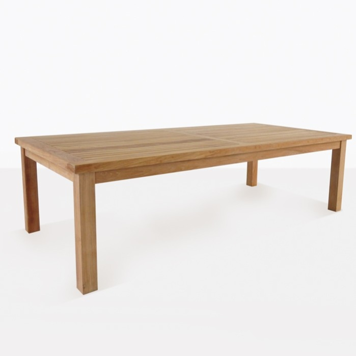 Hampton Teak Outdoor Dining Tables