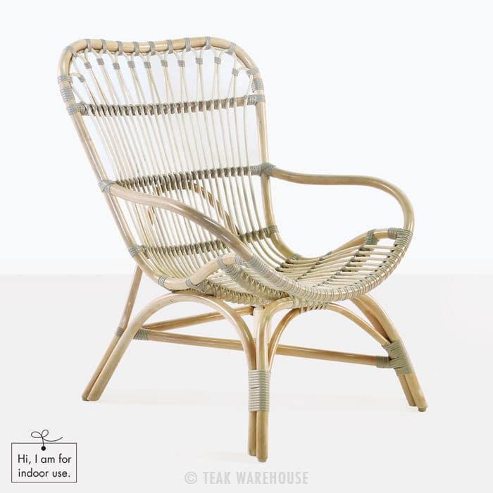 Veranda Indoor Chair Rattan  Teak Warehouse