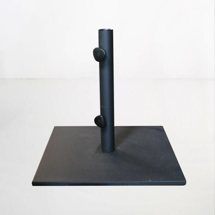 flat steel umbrella stand