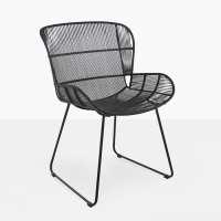 Nairobi Woven Dining Arm Chair (Black) | Teak Warehouse