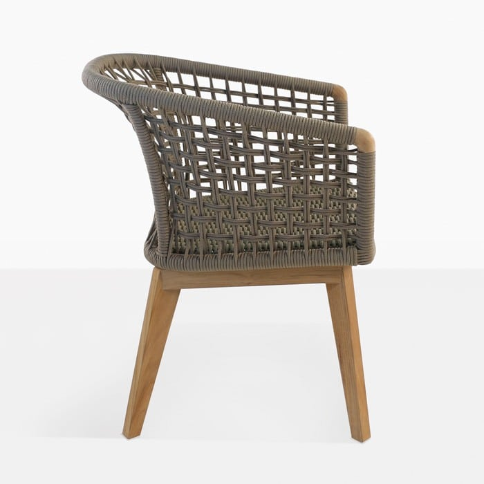 Ravoli Rope Dining Chair  Outdoor Furniture  Teak Warehouse