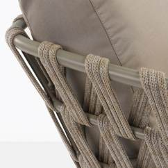 Wicker Dining Chairs Indoor For Living Zero Gravity Patio Chair Xl Weight Capacity Wellington Rope Outdoor Club | Teak Warehouse
