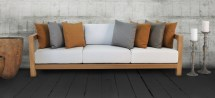 ibiza teak outdoor furniture collection