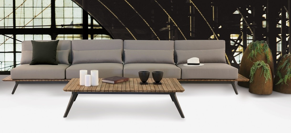 Itegrity Outdoor Sectional Sofa  Patio Sectionals  Teak