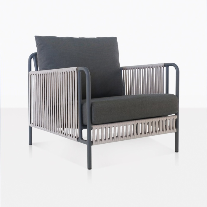 fontana outdoor rope club chair