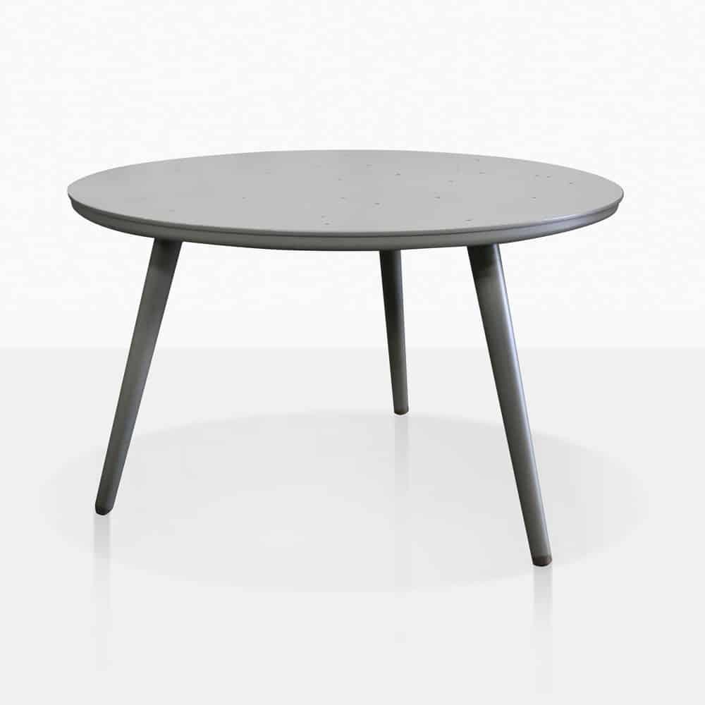 Ida Outdoor Coffee Table Grey  Patio Furniture  Teak