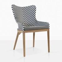 Bugg Outdoor Dining Chair | Wicker Patio Furniture | Teak ...