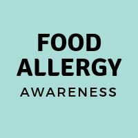 Food Allergy Awareness Tees