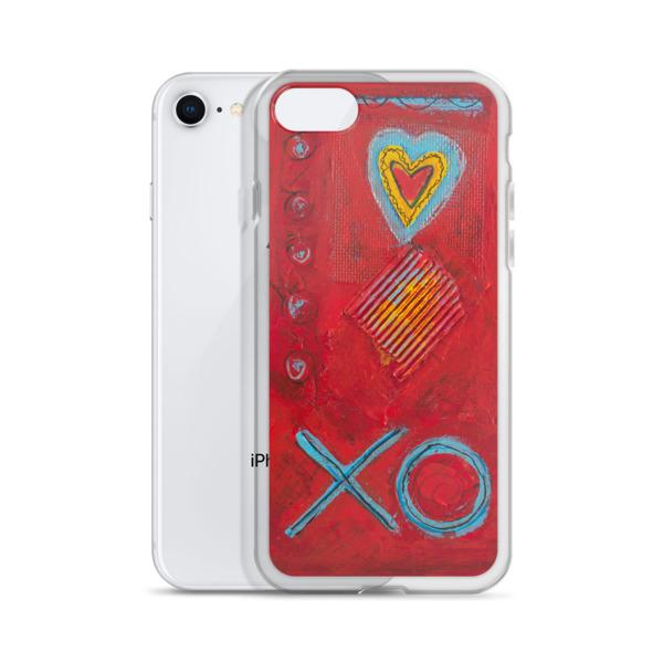 Xo Iphone Case Teal N Buehler Artist