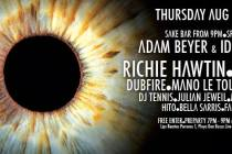 LIVE STREAM Richie Hawtin's enter Week #6