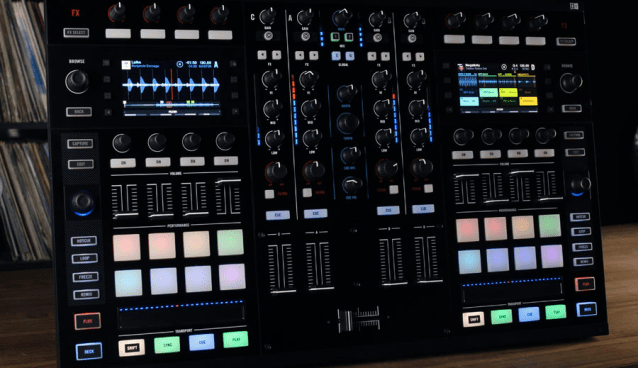 DJTT'S EAN GOLDEN DEMOS KONTROL S8 FROM NATIVE INSTRUMENTS