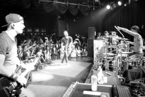 BLINK-182 PLAY FIRST LIVE SHOW WITH ALKALINE TRIO'S MATT SKIBA THE ROXY THEATRE.