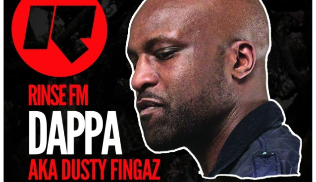 BIG UPS!!! DAPPA aka DUSTY FINGAZ of RINSE.FM at Come Early Dance Longer on July 18th