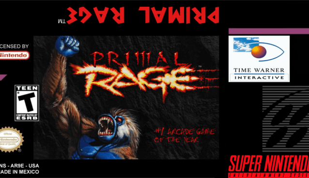 """Primal Rage"" Retro Video Game Review (SNES Man)"