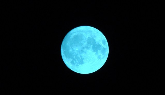 """Once in a Blue Moon""… tonight's rare full moon phase explained"