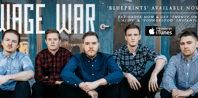 "Just Released: Wage War – ""Youngblood"""