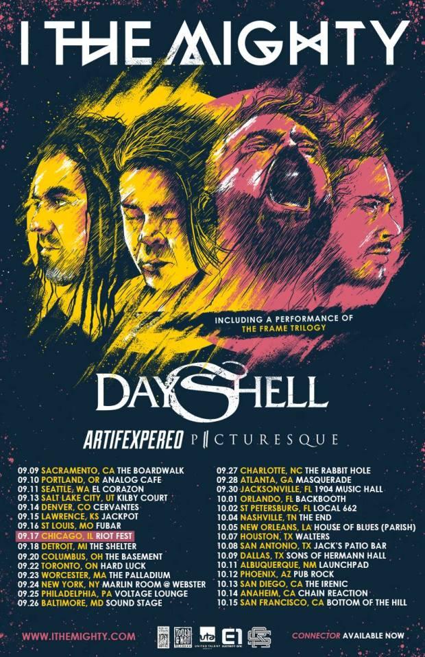 I The Mighty 2016 Headline Tour Dates