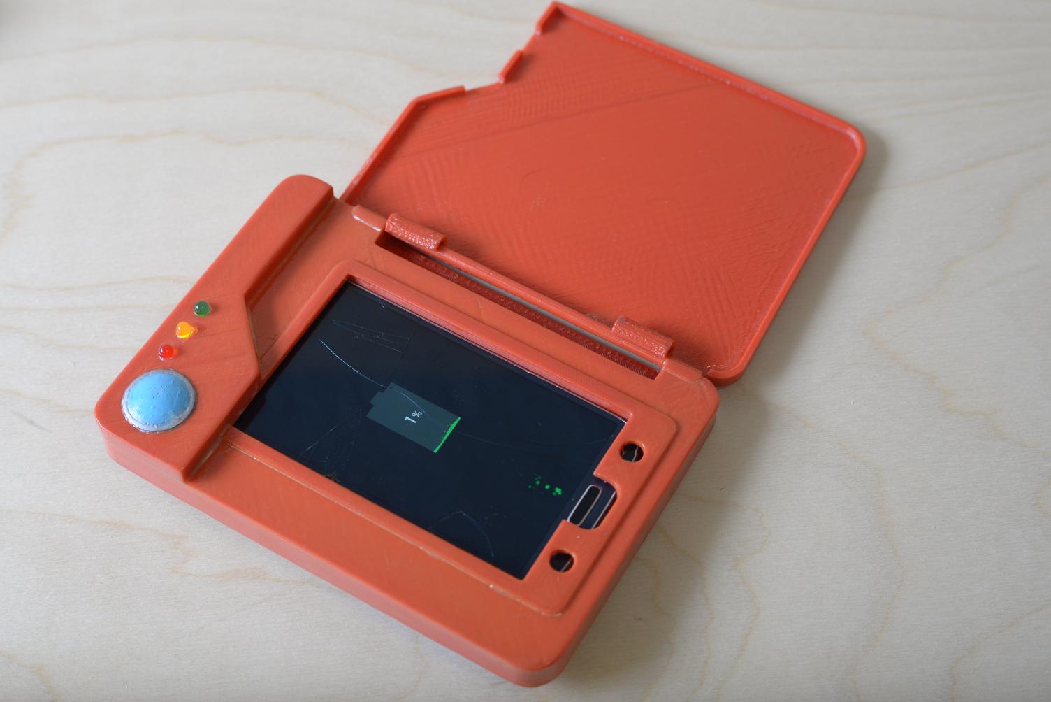 Pokemon Pokedex Cellphone Case