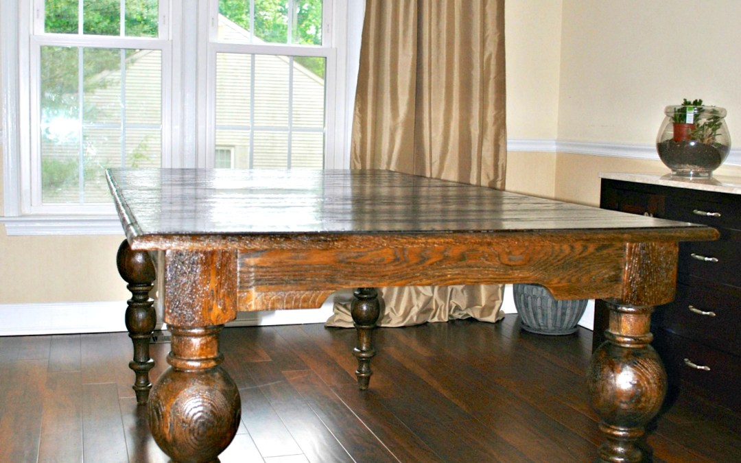 A Dining Room Table- FINALLY!