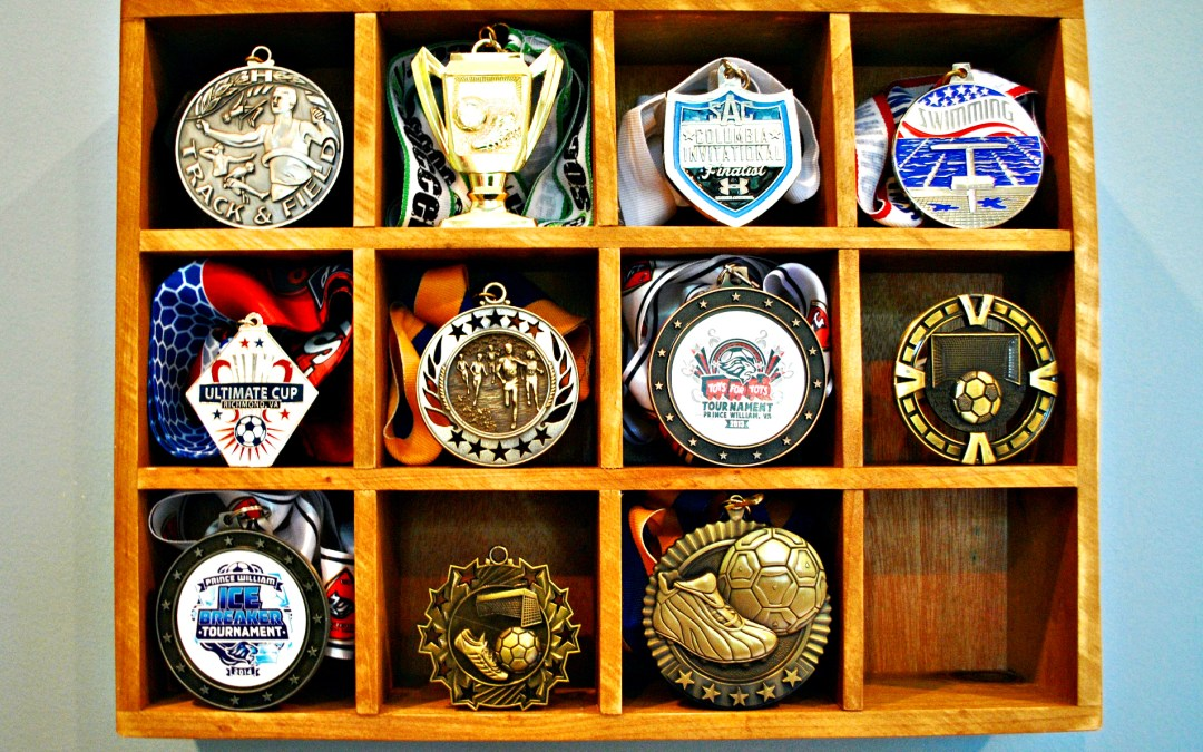 Tutorial on How to Display Kids' Medals