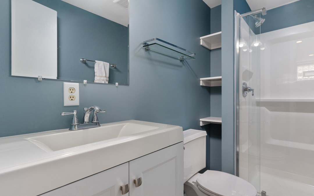 Renovations at the Columbia Rental- Bathrooms