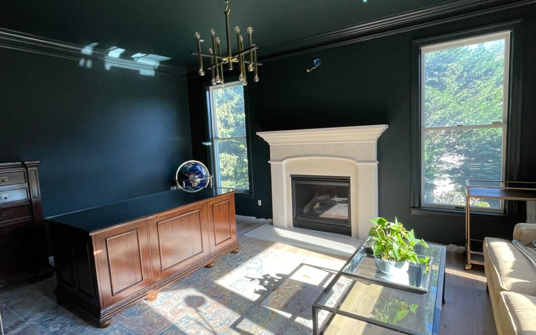 Friday Roundup: The Baseboards, Office Plans, Endless Painting