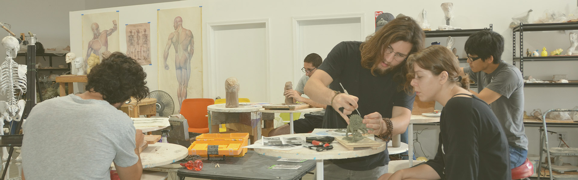 Clay and mixed media classes