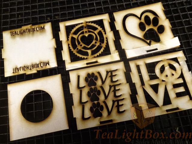 Metal Tea Light Box