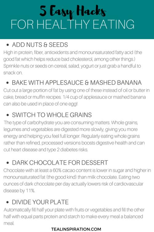 Healthy Eating Hacks
