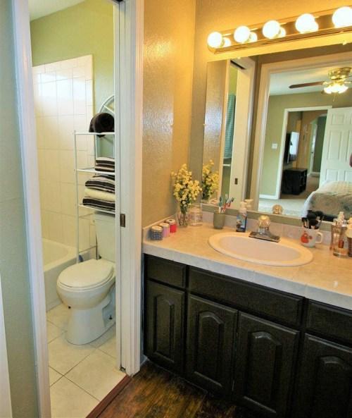 DIY Bathroom Vanity Upgrade