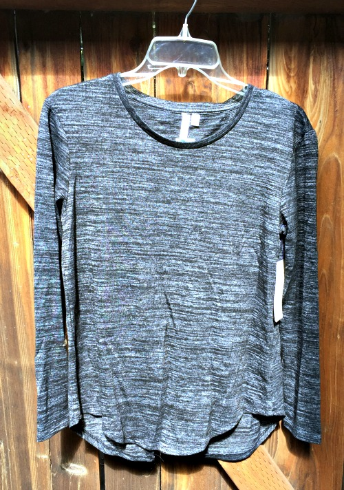 Stitch Fix October 2015 RD Style Keira Crew Neck Split Back Knit Top