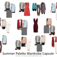 Summer Color Palette Wardrobe Capsule