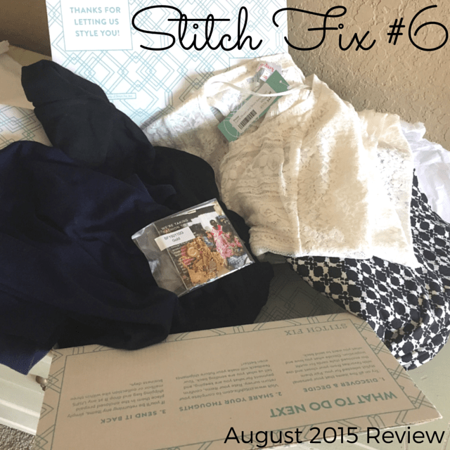August Stitch Fix Review