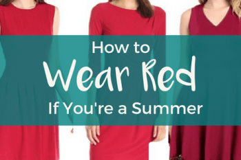 How to Wear Red if You're a Summer
