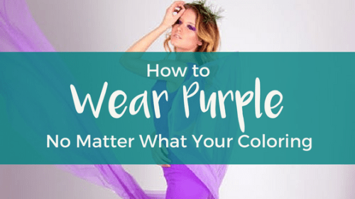 How to Wear Purple