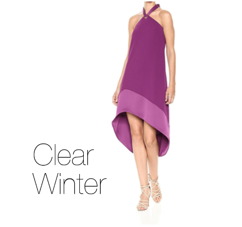 How to Wear Purple Clear Winter